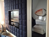 Amazing suite: carpet walls